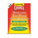 Covonia Medicated Sore Throat 5mg/1mg Lozenges Menthol Flavour