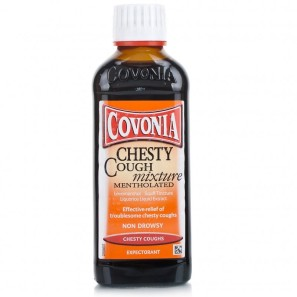Covonia Chesty Cough Mixture Mentholated
