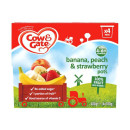 Cow & Gate 4-6months 100% Fruit Apple & Banana Fruit Cups
