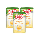 Cow & Gate Comfort Baby Milk Formula From Birth Triple Pack