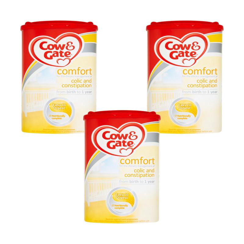 Buy Cow Gate Comfort Milk 0 12 Months Triple Pack 800g X3 Pack