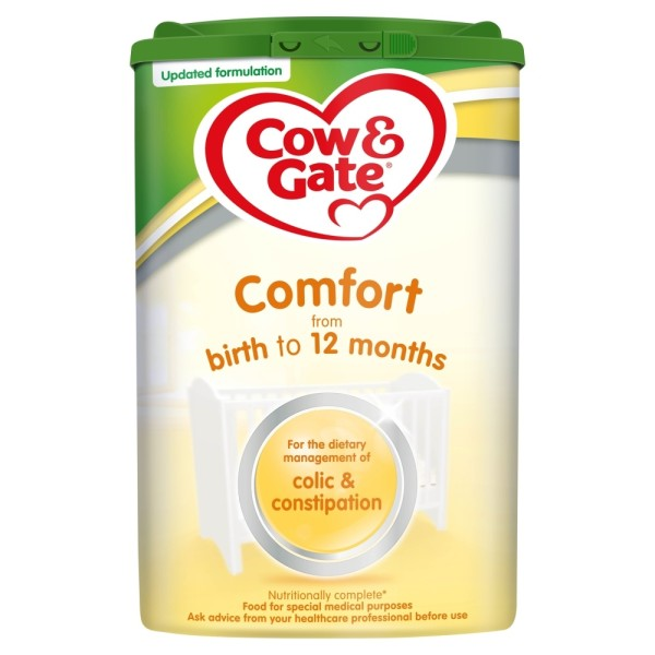Cow & Gate Comfort Baby Milk Formula From Birth