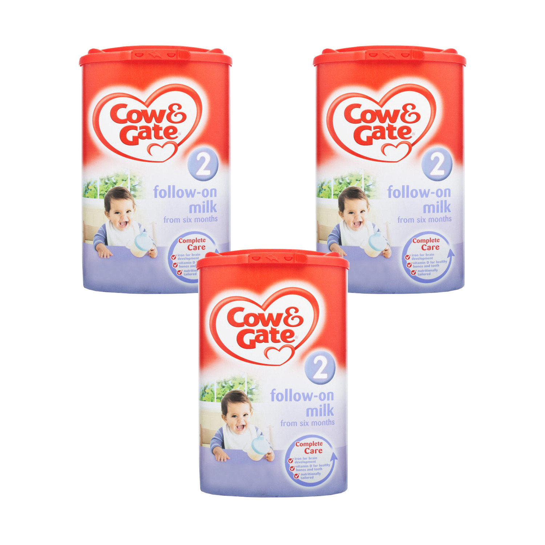 Cow & Gate Follow On Milk 900g  Triple Pack