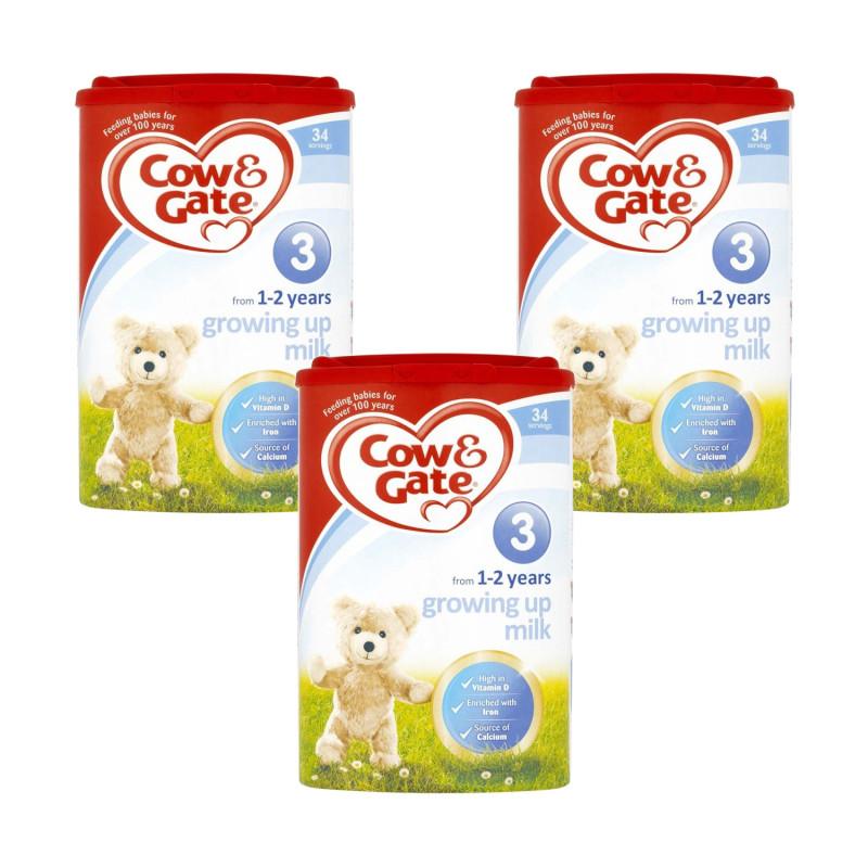 Buy Cow Amp Gate Growing Up Milk 1 2 Years Triple Pack