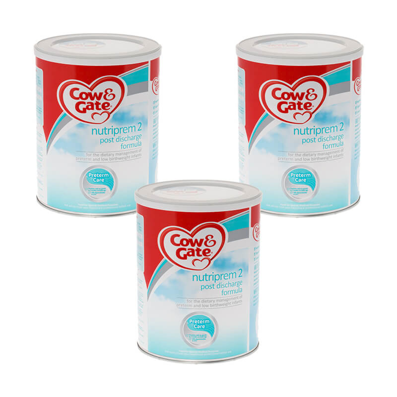 Click to view product details and reviews for Cow Gate Nutriprem 2 Powder Triple Pack.