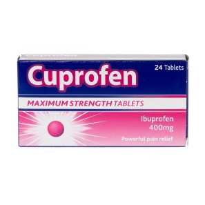 Cuprofen Maximum Strength Tablets 400mg