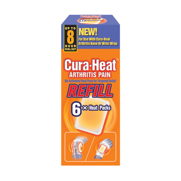 Cura Heat Arthritis Pain Refill Patches