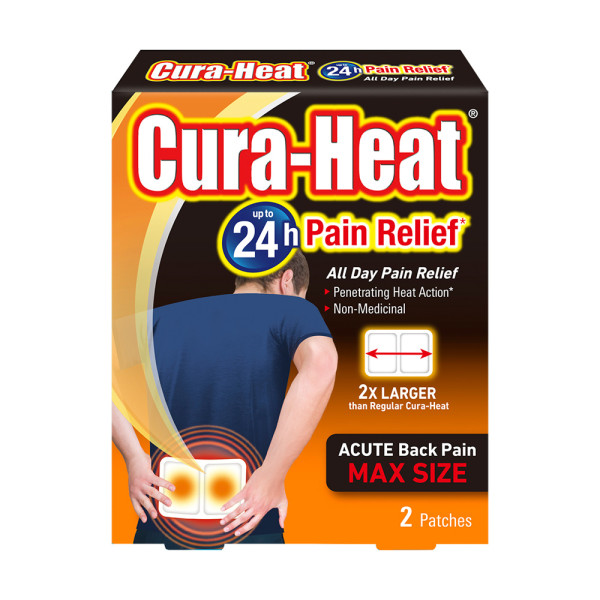 Cura Heat Max 2 Patches