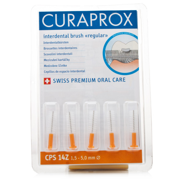 Curaprox Regular Orange Cylindrical CPS14Z