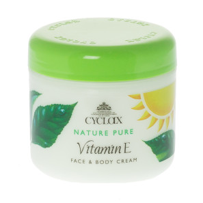 Cyclax Vitamin E Face and Body Cream