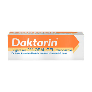 Daktarin Sugar Free 2% Oral Gel