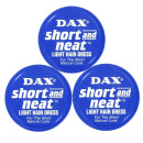 Dax Short And Neat Wax Triple Pack