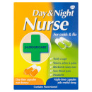 Day & Night Nurse Cold and Flu Relief Capsules 24s