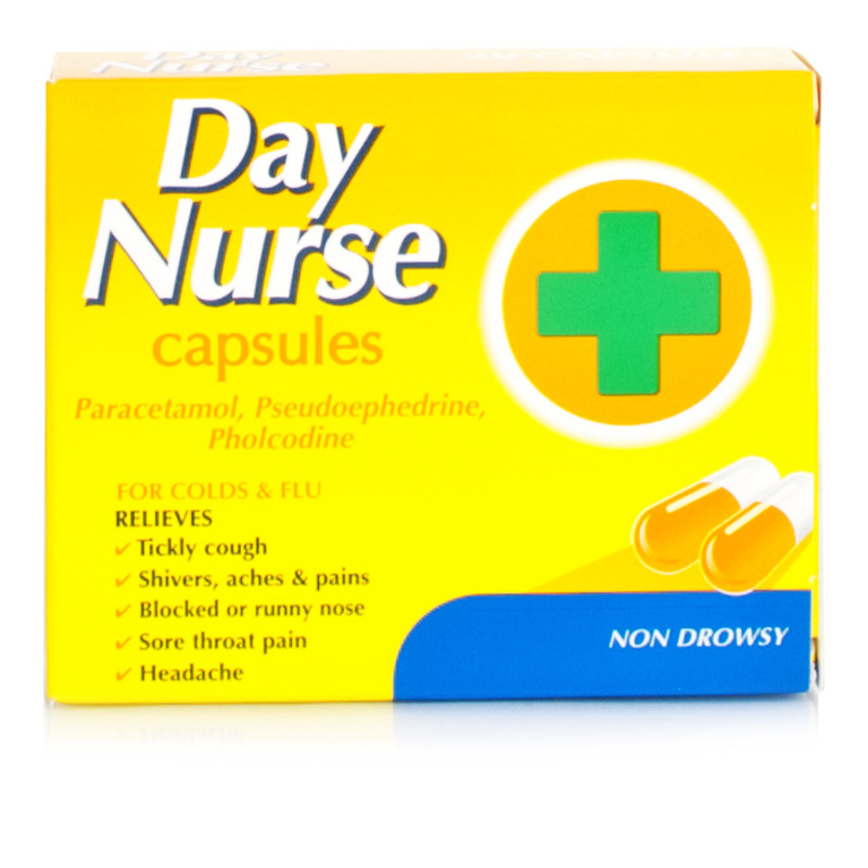 Day Nurse Capsules | Cold and Flu | Chemist Direct
