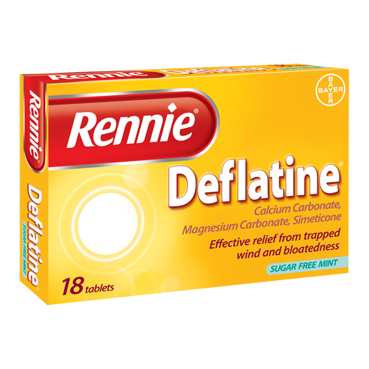 Deflatine Heartburn Indigestion & Trapped Wind Relief