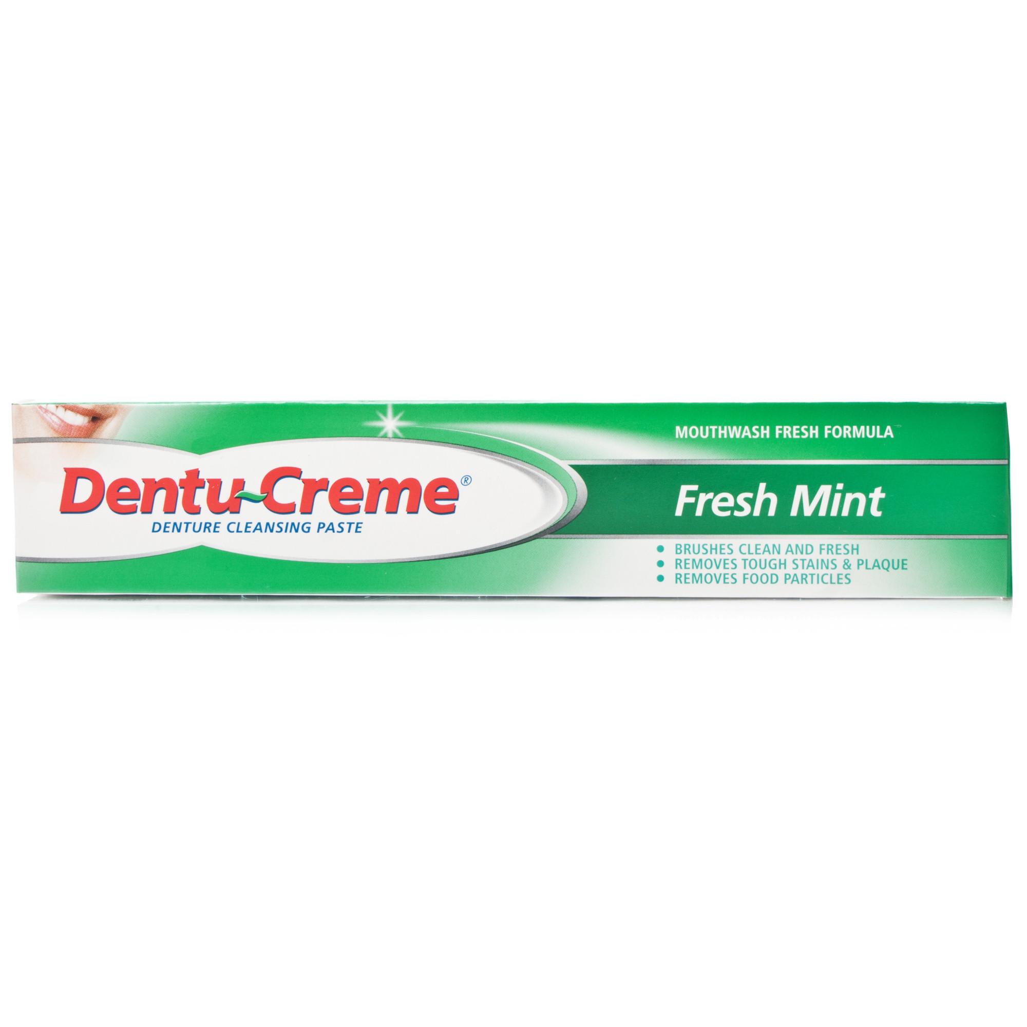 Dentu-Creme Denture Cleansing Toothpaste