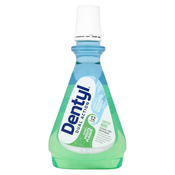 Dentyl Dual Action Smooth Mint CPC Mouthwash