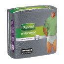Depend Pants Male Small/ Medium 10s