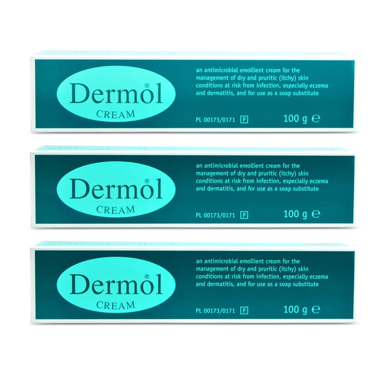 Dermol Cream - 3 Pack