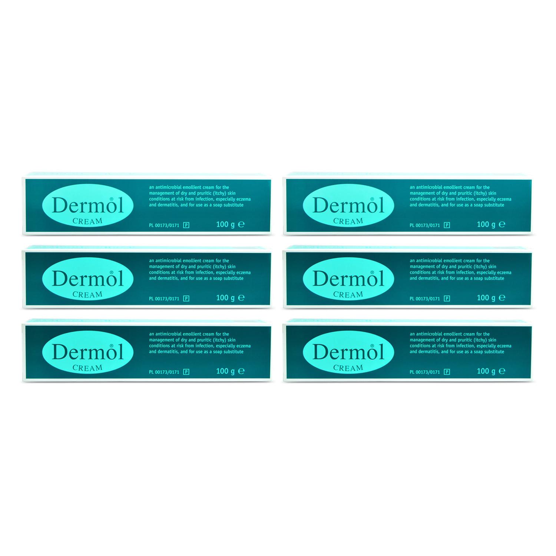 Dermol Cream - 6 Pack