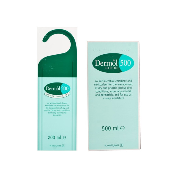Dermol Shower Emollient + Lotion