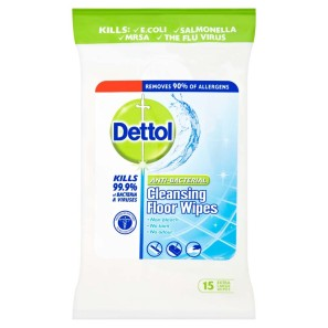 Dettol Anti-Bacterial Floor Cleaning Wipes