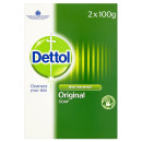 Dettol Anti-Bacterial Original Bar Soap Twin Pack