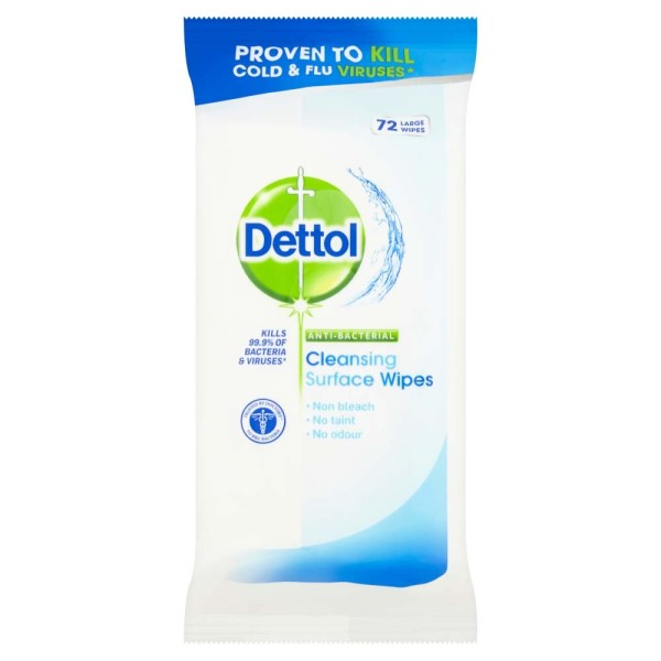 Dettol Anti-Bacterial Surface Cleanser Wipes