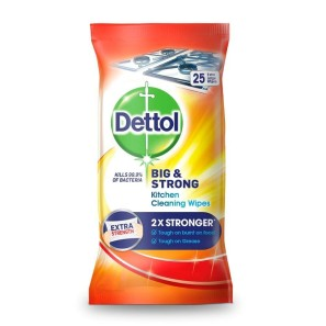 Dettol Big and Strong Kitchen Wipes