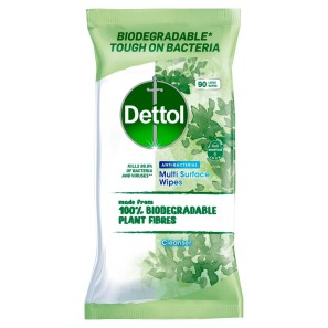 Dettol Biodegradable Surface Cleanser Wipes