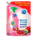 Dettol Clean & Fresh Multipurpose Cleaning Refill Spray Pomegranate