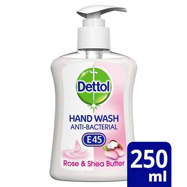 Dettol Liquid Handwash with E45 Rose & Shea Butter
