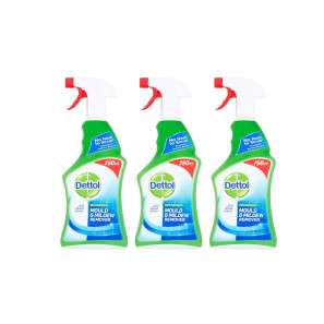 Dettol Mould and Mildew Remover x 3