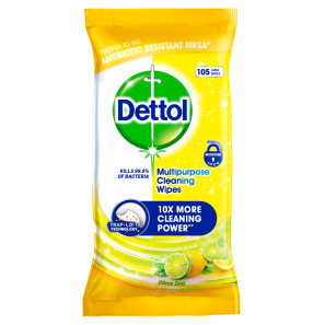 Dettol Multipurpose Cleaning Wipes Citrus 105 Wipes