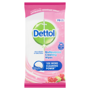 Dettol Multipurpose Cleaning Wipes Pomegranate