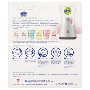 Dettol No Touch Rose & Shea Butter