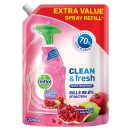 Dettol Refill Clean and Fresh Multi-Purpose Cleaning Spray Pomegranate