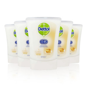 Dettol Refill with E45 Rose & Shea Butter