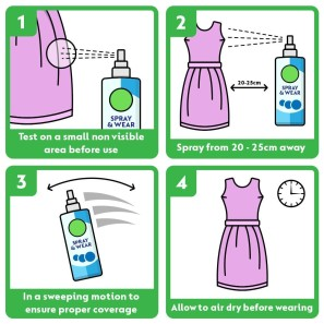 Dettol Spray & Wear Fresh Cotton