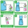 Dettol Spray and Wear Fabric Clothes Freshener Spray, Waterlily Fragrance