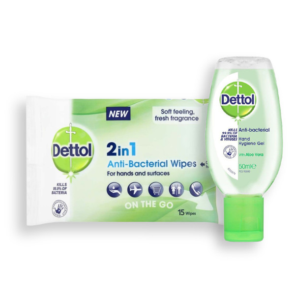Dettol Travel Safe Bundle
