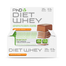 PhD Diet Whey Bars Choc Orange