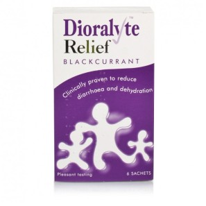 Dioralyte Relief Sachets Blackcurrant