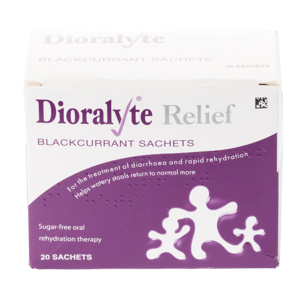 Dioralyte Sachets Blackcurrant