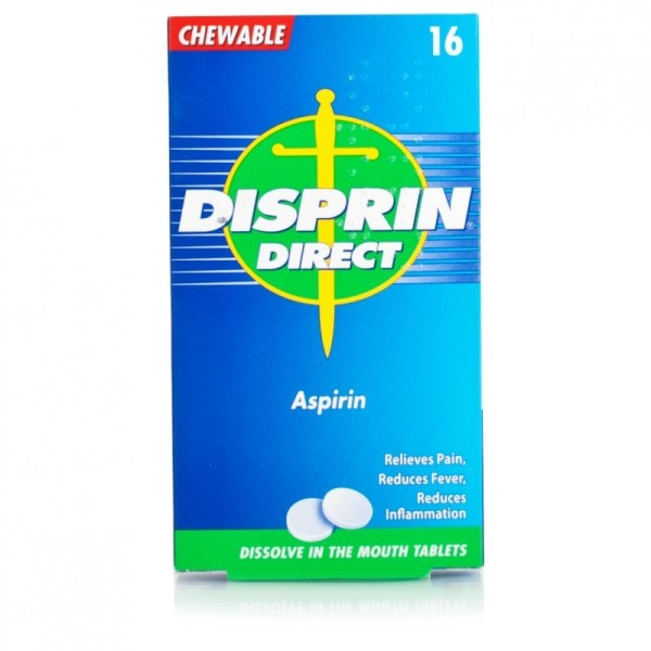 Disprin Direct Chewable Aspirin Tablets
