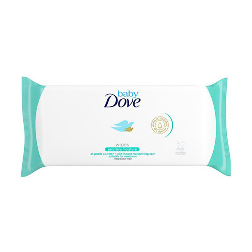 Click to view product details and reviews for Dove Baby Wipes Sensitive.