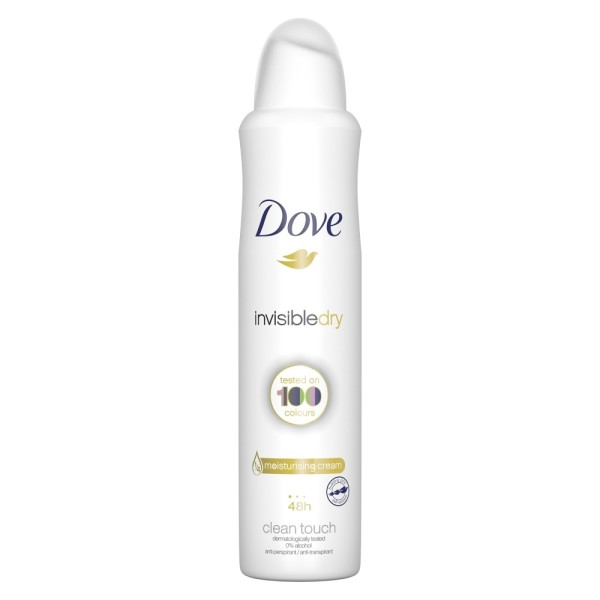 Dove For Women Antiperspirant Invisible Dry