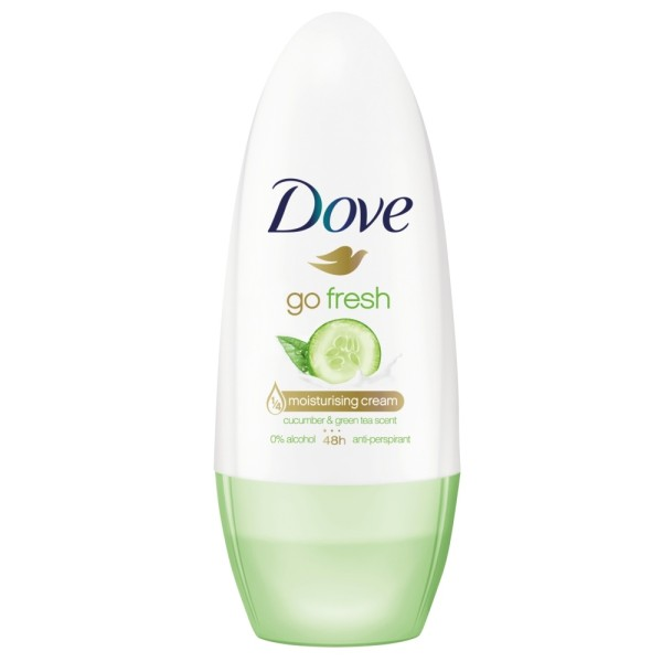 Dove For Women Antiperspirant Roll On Cucumber and Green Tea