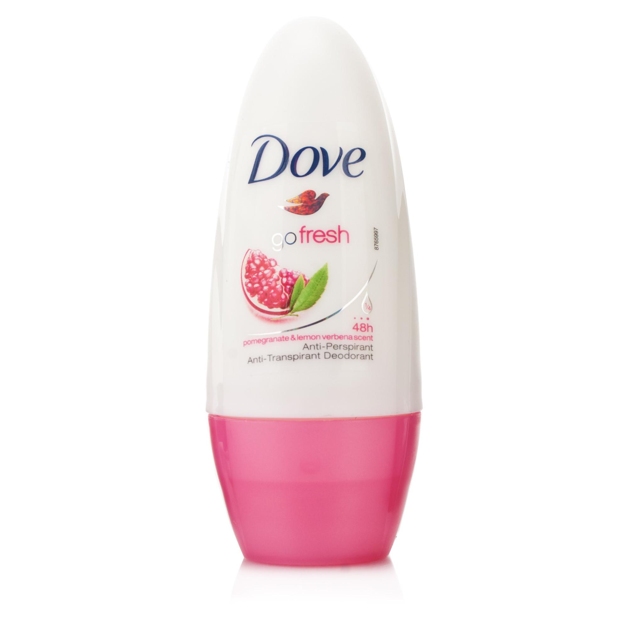 Dove Go Fresh Pomegranate & Lemon Verbena Roll-On Antiperspirant