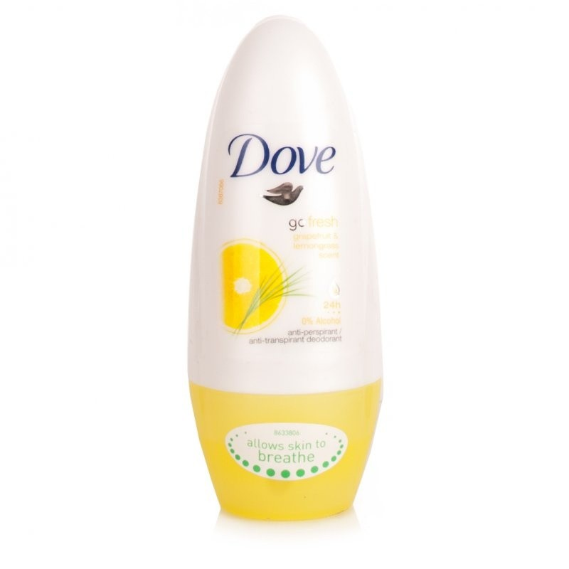 Dove Go Fresh Grapefruit & Lemongrass Roll-On Antiperspirant